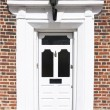 Stock Photo: Grand front door
