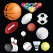 Royalty-Free Stock Photo: Sports balls