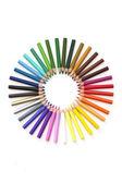 Pencil colourwheel — Stock Photo