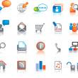 Web icon set — Stock Photo