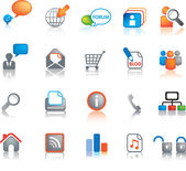 Web icon set — Stock Photo