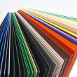 Coloured papers — Stock fotografie