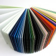 Coloured papers — Stock Photo