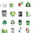 Eco icon set — Foto de Stock