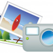 Holiday travel photos — Stock Photo