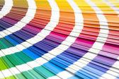 Libro de muestras coloreadas — Foto de Stock