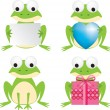 Frog set — Stock Photo #2248522