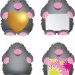 Mole set — Stock Photo