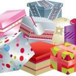 Постер, плакат: Pile of gifts