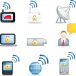 Communication icons — Stock Photo #2270405