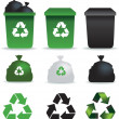 Rubbish icons — Stock Photo #2277032