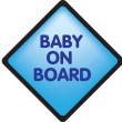 Baby on board — Stock Photo #2279003