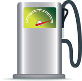 Petrol pump — Stock Photo
