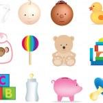 Baby illustrations — Stock Photo #2317763