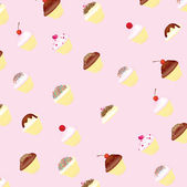Cup cake background — Stock Photo
