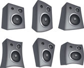 Speaker set — Stock Photo