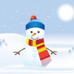 Snowman — Stock Photo #2377702