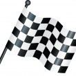 Chequered flag — 图库照片