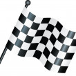 Chequered flag — Stock Photo #2378147