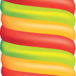 Big ice lolly — Stock Photo