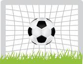 Fotboll-ikonen — Stockfoto