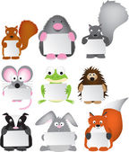 Animal cartoons — Stock Photo