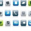 Office items icon - Stockfoto