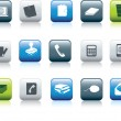 Office items icon — Stock Photo