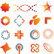 Logo marks and symbols — 图库照片