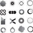 Logo marks and symbols — ストック写真