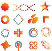Logo marcas y símbolos — Foto de Stock