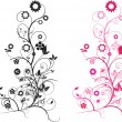 Floral pink — Stock Vector #2581120