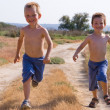Foto de Stock  : Running children