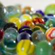 Collection of marbles - Stock Photo