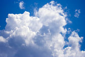 Beautiful clouds in blue sky — Stock Photo