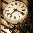 Foto Stock: Ancient clock