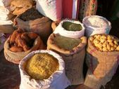 Food ingredients market — Stock Photo