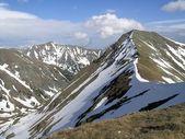 Panorama of mountain ridge — Stock Photo