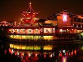 Pagoda at night — Stock Photo
