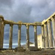 Stock Photo: Roman temple.