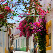 Street in Algarve. - Stock Photo