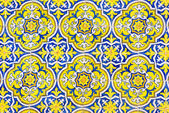 Portuguese tiles. — Stock Photo