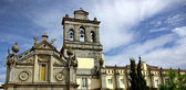 Church in the city of Evora. — Stock Photo