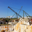 Stock Photo: Marble quarry at Portugal.