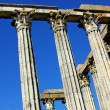 Stock Photo: Evora:Roman temple.