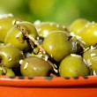 Portuguese salted olives. — Stock Photo