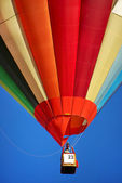 Colored hot air ballon — Stock Photo