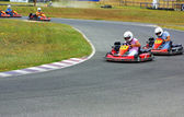 Cars of kart — Stock Photo