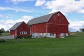 Fazenda da família — Fotografia Stock