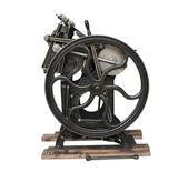 Antique letterpress — Stock Photo